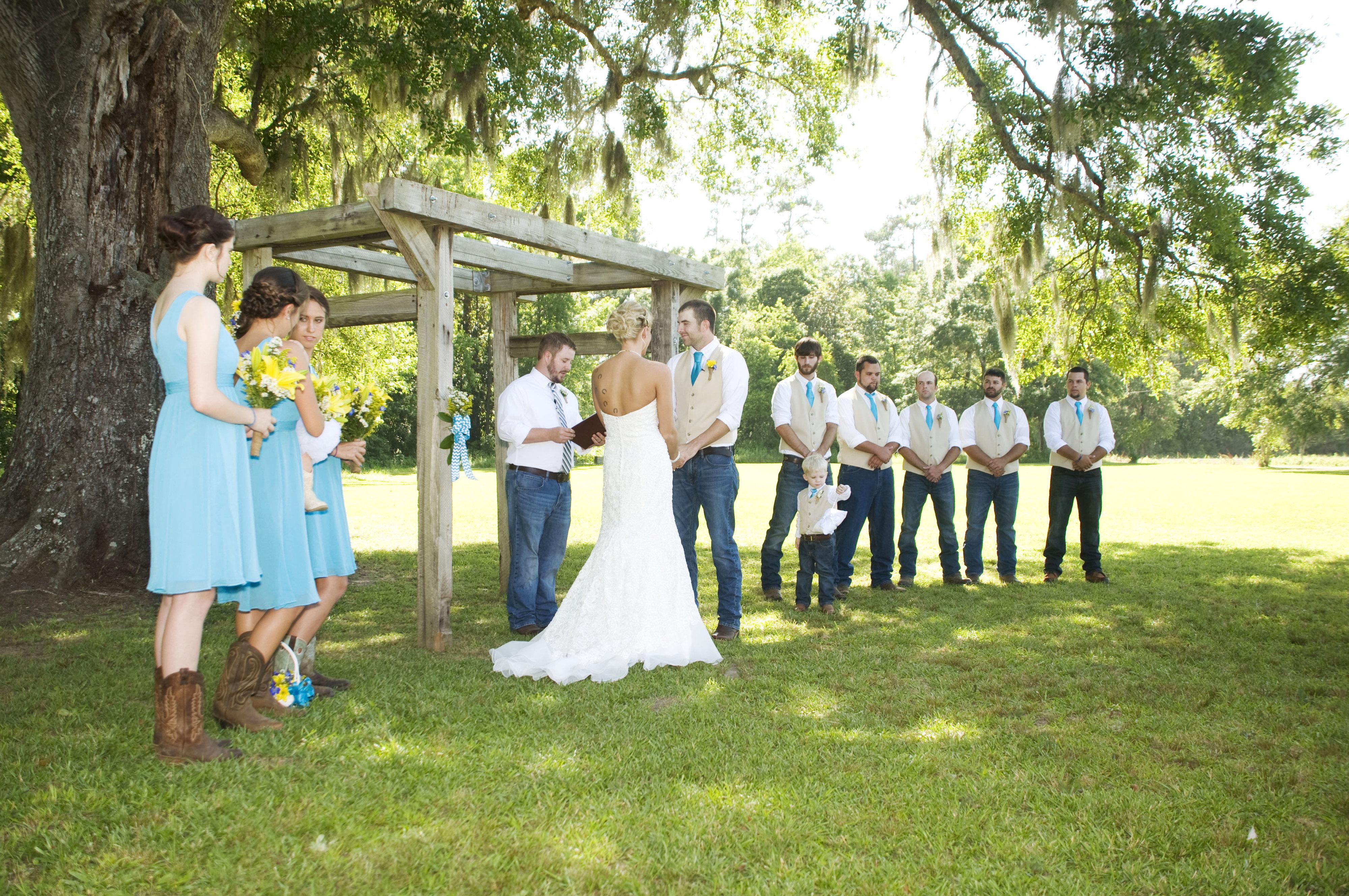 Свадьба на ферме фото