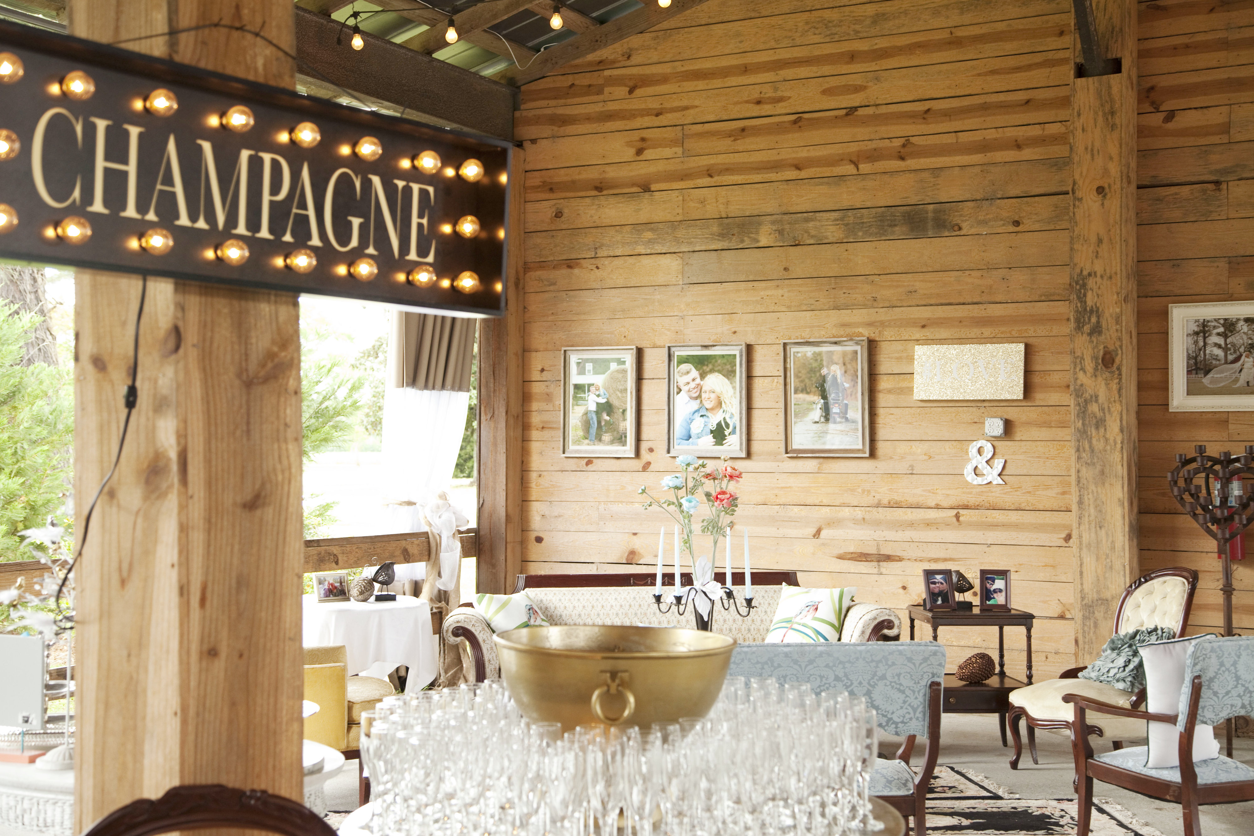 Dream Day Wedding Package at Thompson Farm and Nursery, Conway, SC