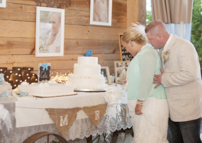 Wedding Cake at Thompson Farm