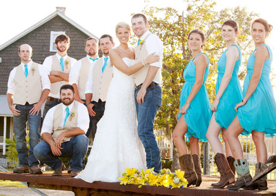 Wedding on farm in Conway, SC