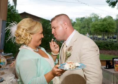 Bucksville Hall wedding ceremony