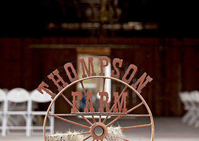 Thompson Farms Wedding