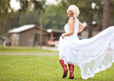 South Carolina wedding bride