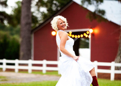 Bucksville Hall wedding