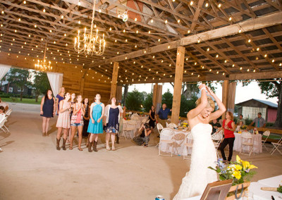 Bride at Thompson Farms Bucksville Hall