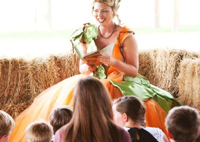 Farm story time