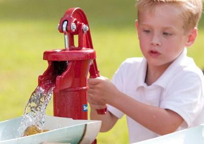 Kids play at Thompson Nursery
