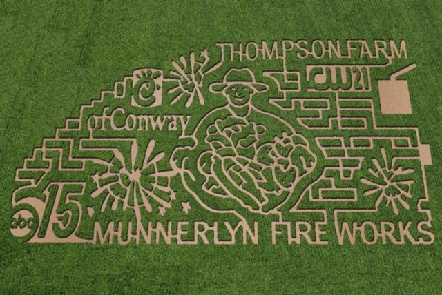2014 10-Acre Corn Maze