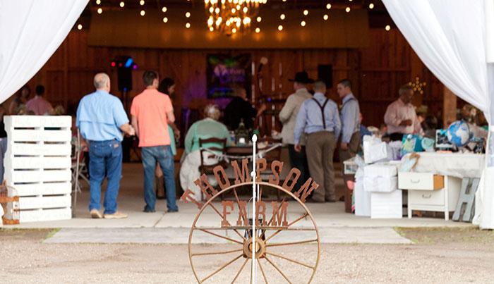Farm wedding in Georgetown, SC